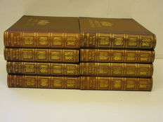 WW I; The Illustrated War News - 8 volumes - 1914-1916