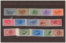 Republic of Italy 1952 - 50th anniversary of the death of Giuseppe Garibaldi - Sass. No.  315/324 and A32/A38