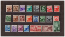 Italian Republic, 1945-1948 - Democratic Series - Sassone Nos.  543–565