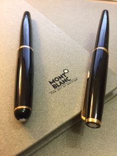 Great opportunity - 2 piece set consisting of: Montblanc 121 fountain pen, and Montblanc s/c fountain pen