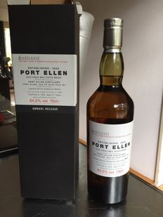Port Ellen 1978 27 years old - 6th release- 54.2% - OB
