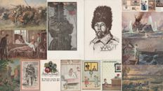 WWI - Germany - Lot of 20 illustrated postcards