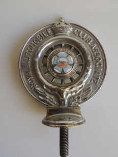 United Kingdom; radiator cap / RAC North Yorkshire emblem - circa 1920