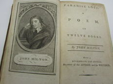 John Milton - Paradise Lost: A Poem, in Twelve Books - 1792