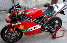 Ducati - 998 S - F02 Troy Bayliss Replica, Full Carbon - 2002
