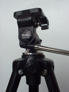 Rollei Popular vintage tripod of the famous Rollei company from Germany