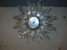 Swarovski - table clock Solaris