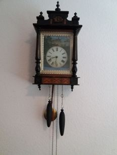 Painting Clock - period 1880