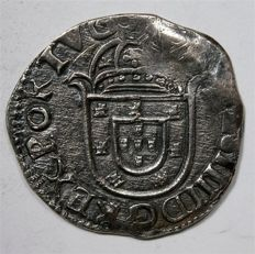 Portugal - Silver Tostão -  Joao IV (1640-1656) AG 75.17 - Very rare in this condition