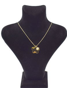 14 carat yellow gold necklace  with Pendant  43 cm