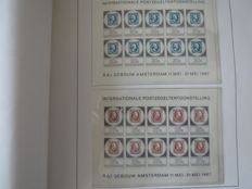 The Netherlands 1852/1996 - Collection in three Davo albums