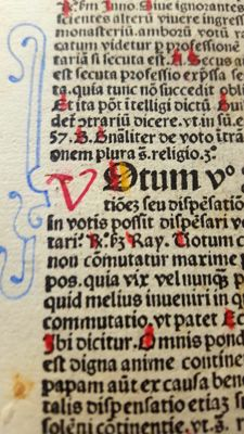 Incunabula; 3 leaves from 3 medieval books - 1488 / 1498