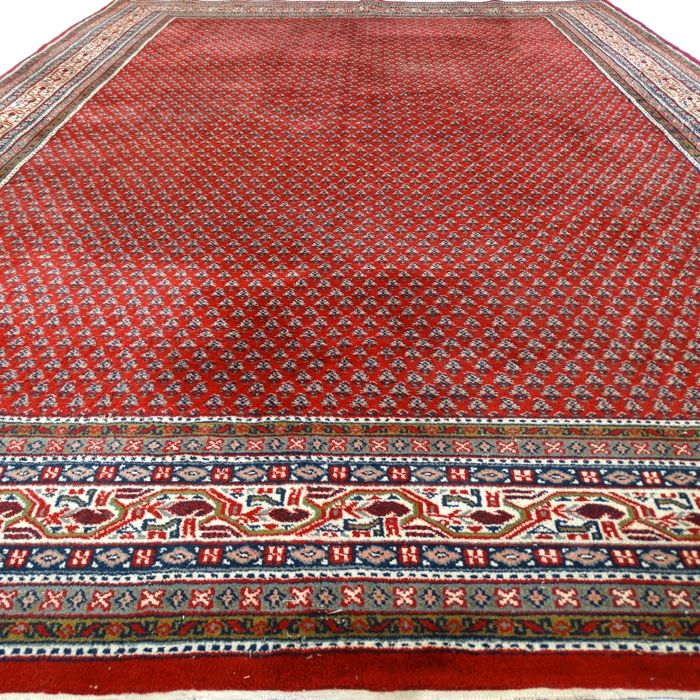 "Mir - 330 x 242 cm.  - ""Large oriental carpet in beautiful condition"" - With certificate."