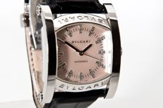 Bulgari - Assioma Mother Of Pearl Diamond - AA44S - Unisex - 2000-2010