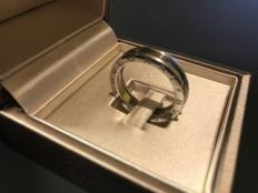 BVLGARI B. Zero 1 ring made of 750 white gold - size 60