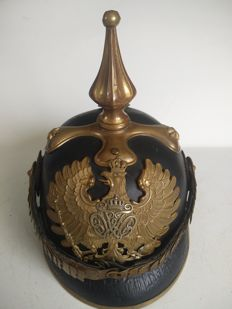Germany - Pin helmet - Pickelhaube - officer/civil servant