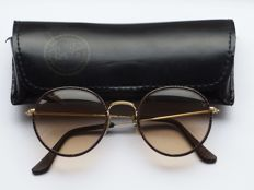 Ray-Ban B&L Round metal - Leathers - Sunglasses - Unisex