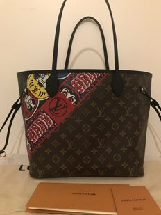 Louis Vuitton - Neverfull MM Kabuki, Limited edition - Shopper bag