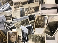 2) Original lot of 33 Third Reich pictures / 1 Postcard German Wehrmacht, 2/33