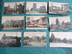 Lot of 60 postcards from the early 20th century