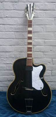 Archtop Electric Rodebald Hoyer Jazz Guitar 1959