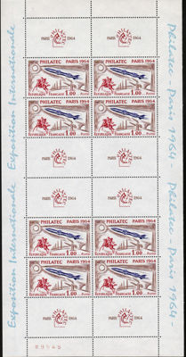 France 1949/1996 - Block selection - Yvert Block no. 6, 7, 9 and Stamp Centenary no. 833A