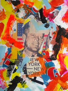 Umberto Alizzi - Kennedy New York New York (Tribute to Mimmo Rotella)