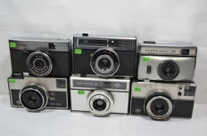 Lot of 6x Instamatic cameras