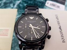 Armani Mens Watch AR1507 Chronograph