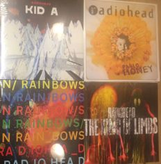 Four albums of Radiohead    Great quality   