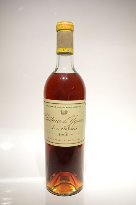 1966 Chateau d'Yquem - Sauternes - 1 bottle