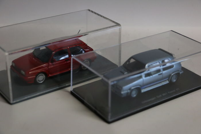 Spark / Neo - Scale 1/43 - VW Golf MK1 Kamei X1 & VW Golf Rallye Golf