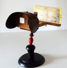 Mexican type stereoscope