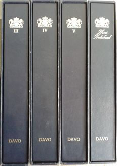 Accessories – 4 DAVO LX albums of the Netherlands