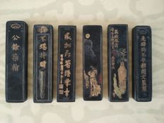 Ink sticks - China - 19th century
