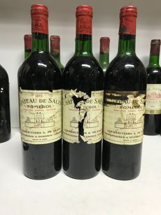 1973 Chateau de Sales, Pomerol, France , 3 bottles 0,75l