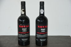 1994 Late Bottled Vintage Port Quinta do Noval - 2 bottles