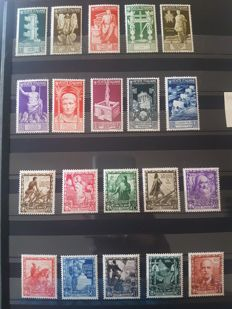 Italy 1900/1940 - Collection of better stamps from classic to the 1940s