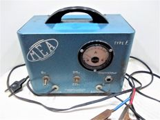 M E A Vintage battery charger 6 and 12 volts - c. 1965