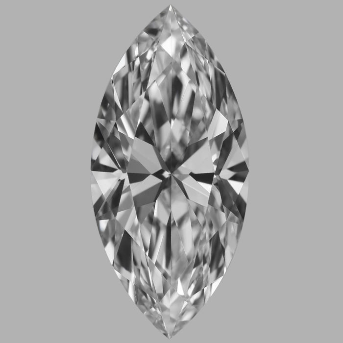 0.71 Carat Marquise  Brilliant cut Diamond,  D IF  GIA, Serial# - BH-20