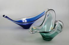 Bayel - two glass bowls