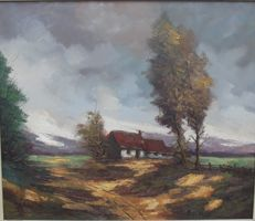 Matheve Jake ( 1903 - 1986 ) - Landschap