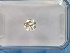 Brilliant cut diamond 0.46 ct. STW J P 1 with HRD certificate