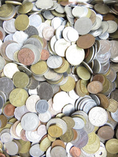 Portugal - Worldwide - lot of various coins of Portugal and the entire world - Over 5.6kg