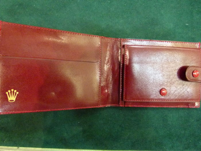 Rolex - Vintage 1960s wallet, rare, in very good condition