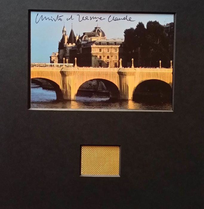 Christo and Jeanne-Claude - Wrapped Pont Neuf - Tje Floating Piers