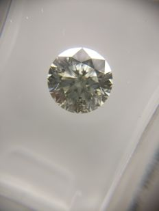 1.04 ct Round cut diamod G SI2     No Reserve Price