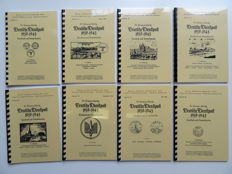 "Accessories - ""Deutsche Dienstpost 1939–1945"" (German Official Post) Complete set of 8 handbooks (reprints)"