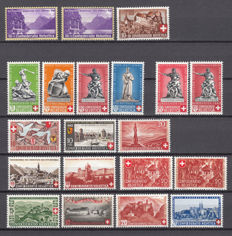 Switzerland 1938/2004 - Pro Nation Series collection.