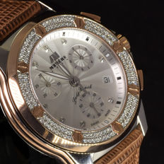 Meyers Lady Beach XL – Ladies' watch – with 136 diamonds